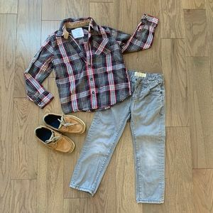 Boy's outfit size 5.